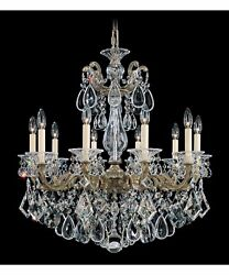 Schonbek Chandelier 5074 23 A Delivery And Installation For Southern California $2950.00
