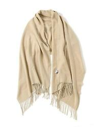 Wool Scarf Shawl Oversize Blanket Cashmere Feel Scarves And Wraps For Men Women