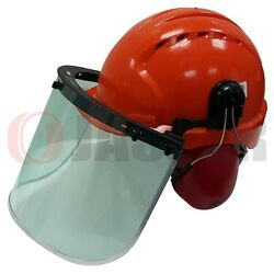 Forestry JSP EVO3 Safety Helmet Hard Hat & Face Shield Clear Visor & Ear Muffs $599.00