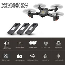 Foldable High Altitude HD Camera Drone WIFI FPV $90.00