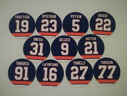 New York Islanders Magnets - Pick a player - Hockey Jersey Magnets - Legends
