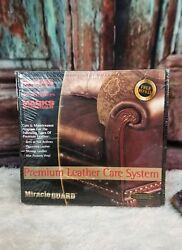 Miracle Guard Leather Care System Rhodes Furniture Care Kit NIB