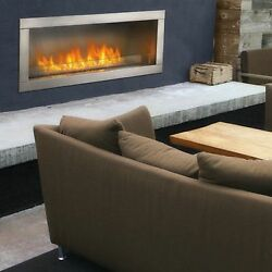 Napoleon Outdoor Gas Fireplace GSS48 Linear Modern Contemporary clean face
