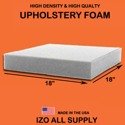 IZO Home Goods High Density Upholstery Foam Seat Cushion - 18