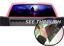 P21 Grim Reaper Rear Window Tint Graphic Decal Wrap Back Pickup Graphics