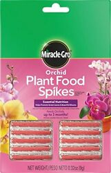 Miracle Gro 100366 Orchid Plant Food Fertilizer Spikes $6.95