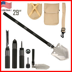 Multi-functional Military Folding Shovel Survival Spade Emergency Garden Camping $24.99