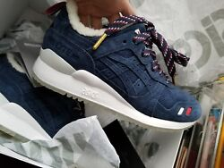 Kith Moncler ASICS Navy Size 5 NEW GEL-LYTE III (got receipt and everything)