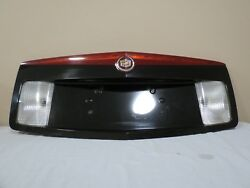 03 04 05 06 07 Cadillac CTS Trunk Lid Backup License Plate Garnish 3rd Light OEM