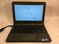 Dell Chromebook 11 3120 11.6quot; Intel Celeron N2840 2.16GHz 4GB 16GB SSD Laptop $69.99