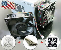 Antminer Fan Replacement + Screws + 120mm Grill Guard Bolts S3 S4 S5+ S7 A6 D3 $13.99