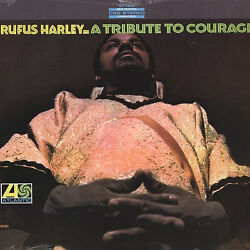 RUFUS HARLEY A Tribute To Courage ATLANTIC RECORDS Sealed Vinyl Record LP