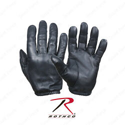 Rothco Search Gloves Black Ultra Thin Cowhide Leather Glove $22.99