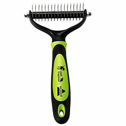 Non Slip Handle Pets like Cats and Dogs Grooming Brush Shedding