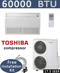 5 TON Ductless Mini Split Air Conditioner Heat Pump CEILING FLOOR 60000 BTU $3499.45