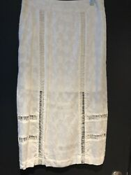 Free People White Skirt Size 2 new $29.00