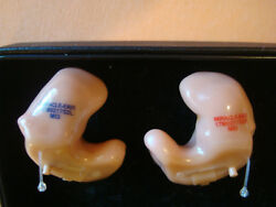 Miracle Ear ME-1 5400 ITE (in the ear) hearing aids Left Right clean excellent
