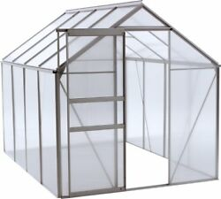 Hobby Greenhouse Kit Big Green House Sliding Door Clear Starter Home Vented Best