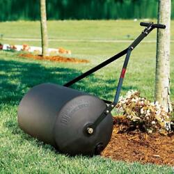 Poly Lawn Roller PushTow Combination Heavy Duty Steel Rust Resist Large Dia.