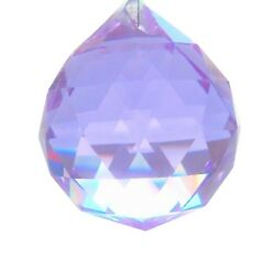 20mm Lilac Ball Chandelier Crystals Prism Suncatcher Faceted Ball $4.99