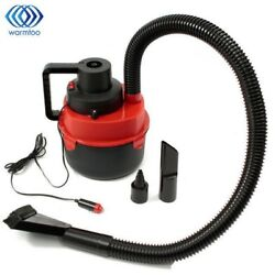 12V DC 90W Portable Wet Dry Canister Outdoor Carpet Car Boat Mini Vacuum Cleaner