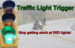 RED LIGHT CHANGER Trigger Traffic Signal Fits All Motorcycles $13.99