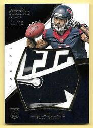 2015 Immaculate Collection Gloves Logo #JS Jaelen Strong Glove Relic RC #21 25 $29.78