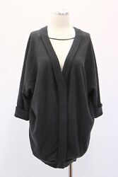 NWT$3325 Brunello Cucinelli Women's 100% Cashmere Knit Cardigan Sweater SzM A181