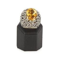 Spectacular late nineteenth century ring. Feriarte
