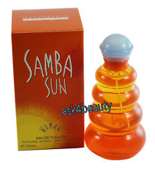 SAMBA SUN FOR WOMEN 3.4 OZ EDT SPRAY BY PERFUMERS WORKSHOP amp; NEW IN A BOX $10.99