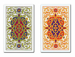 ORO 100% Plastic Playing Cards 2 Pack - MINIMAL MOROCCAN - FREE SHIPPING