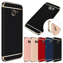 For Samsung Galaxy S6 Edge Plus Phone Ultra-Slim Hybrid Electroplate Case Cover