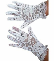 White Lace Communion Gloves Toddlers Super Cute for Boys amp; Girls. Outfit Gloves $5.99