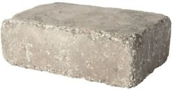 Pavestone RumbleStone Large 3.5 in. x 10.5 in. x 7 in. Greystone Concrete Wall