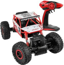 4WD RC Monster Truck Off Road Vehicle 2.4G Remote Control Buggy Crawler Car Red $27.99