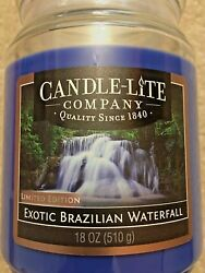 Candle Lite Exotic Brazilian Water Fall Limited Edition (Free Shipping)
