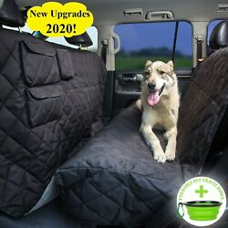 Tapiona XL Dog Seat Cover Truck amp; SUV Extra Coverage Back Seat Cover 63Wx... $88.86