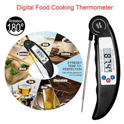 Digital Electronic Food Thermometer Instant Read Probe for Kitchen Cooking BBQ