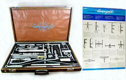 Vintage NOS CAMPAGNOLO 3380 MASTER TOOL BOX CASE w manuals poster complete mint