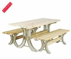 Picnic Table Bench Kit Frames Outdoor Patio Garden Furniture Seat Camping