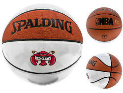 Spalding NBA Autograph Maine Red Claws White Panel Basketball Official Size $16.99