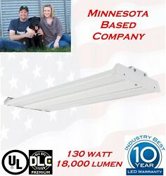 T8 LED High Bay Warehouse Shop Garage light Commercial Light Fixture NEW lamp