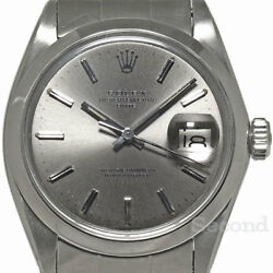 Rolex Oyster Perpetual Date Ref.1500 Chronometer Automatic Auth Mens Watch Works