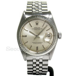Rolex Oyster Perpetual Datejust Ref.1601 Used Automatic Auth Men's Watch Working