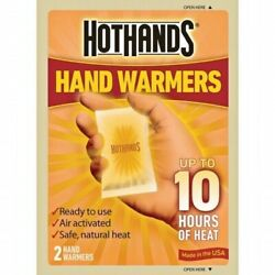 NEW HotHands Hand & Body Warmer up to 10 Hours Safe Max Heat Warmers 1-Pair $4.39