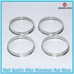4 Aluminum Hub Centric Rings 73.1mm (Wheel) to 70.3mm (Hub)  Hubcentric Ring