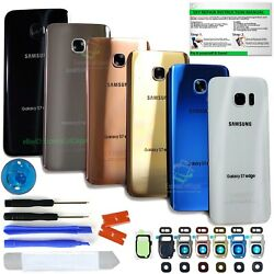 Back Glass Replacement Kit for Samsung Galaxy S7 S7 Edge w.ToolsLensIP68 Tape $11.99