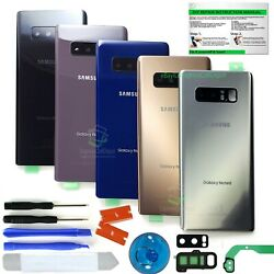 Back Glass Replacement Kit for Samsung Galaxy Note 8 w.ToolLensFrameIP68 Tape $12.28