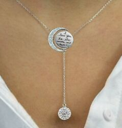 18K White Gold Filled Infinity Necklace with Swarovski Crystals Pave Ball 18