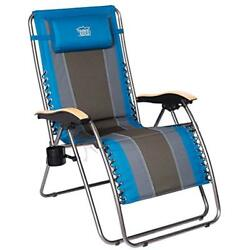 Zero Gravity Patio Lounge Chair Oversize XL Padded Adjustable Recliner With